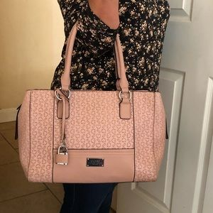 Blush Pink Guess Purse